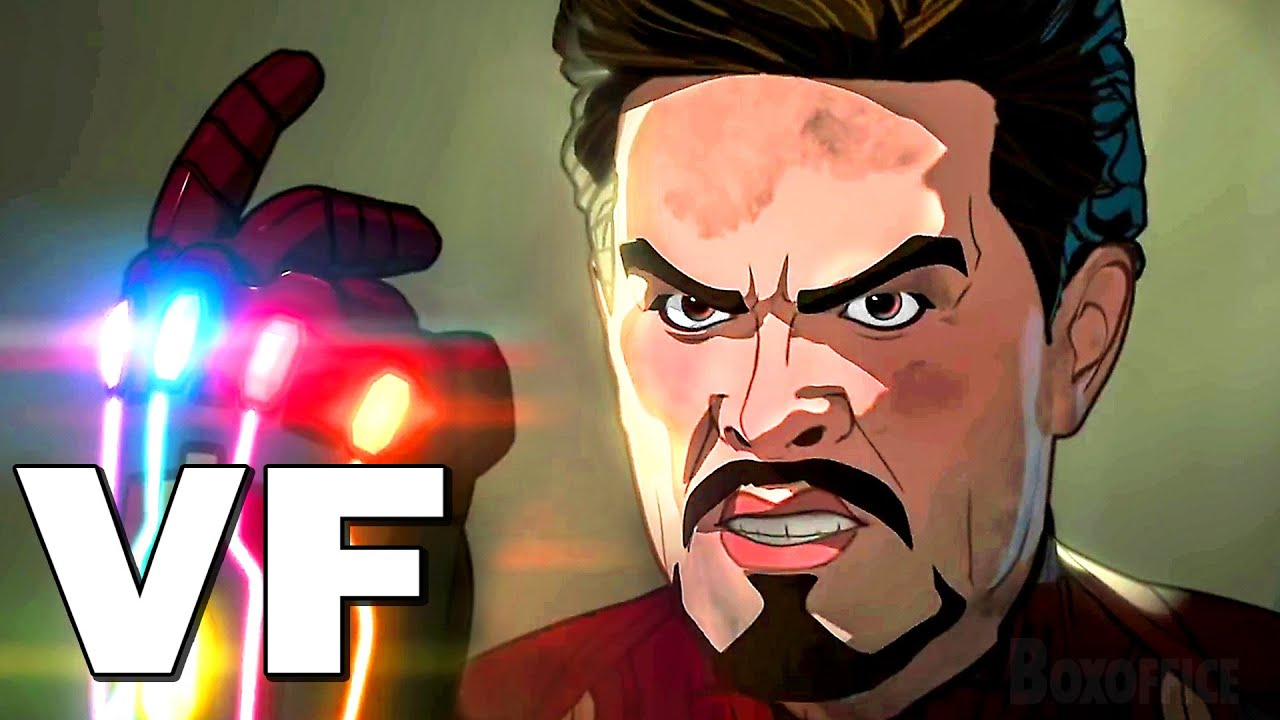 """WHAT IF... ? """"Iron-Man Claque des Doigts"""" Bande Annonce VF (2021)"""