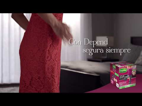 Caja Depend® Silhouette Active Grande 2 Paquetes Youtube Video