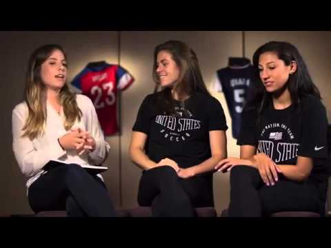 Kelley O'Hara And Christen Press Talk Dumplings, Shooting Stars And How To Win The World Cup