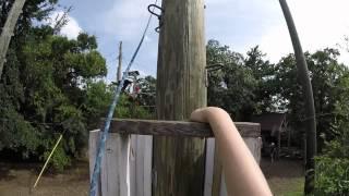 Power Pole Camp Thurman 2015