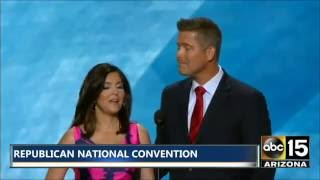 FULL SPEECH Congressman <b>Sean Duffy</b> & Wife Rachel At The Republican National Convention