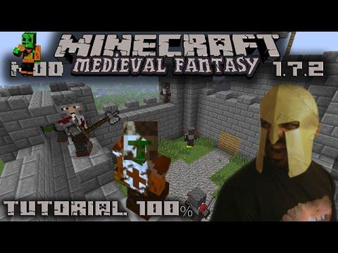Gran Tutorial 100% de Medieval Fantasy MOD para Minecraft 1.7.2 en Español