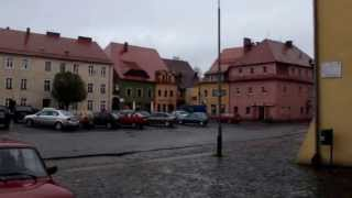 preview picture of video 'Lubomierz (1) Plac Wolności'