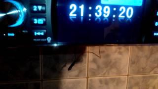 pioneer 4019 настройка часов
