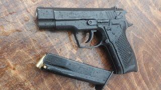 Гроза 021// Самый мощный травматический пистолет в РФ..!!