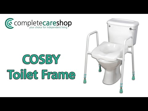 COSBY Toilet Frame And Shower Seat