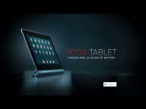 Lenovo Yoga Tablet in 3D