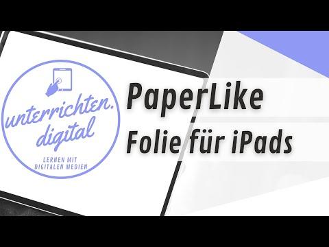 iPad in der Schule - PaperLike-Folie für das iPad: Schreiben wie auf Papier?