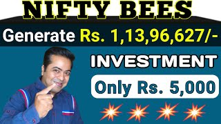 Nifty BEES: मात्र Rs. 5000 निवेश करके Rs. 1.13 Crore बनाए | जाने Nifty Bees में निवेश करने की रणनीति