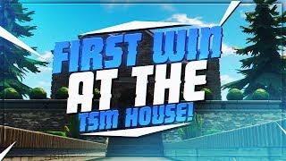 TSM Myth - FIRST GAMES AT TSM FORTNITE HOUSE!!! (Fortnite BR Full Matches)