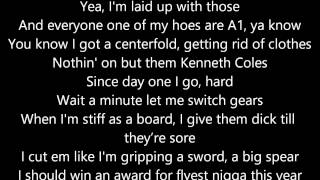 Horseshoe G.A.N.G. - COB Cypher 2012 (Lyrics on Screen)