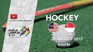 Gambar cover Hockey Men's Singapore 🇸🇬 vs 🇲🇾 Malaysia | 29th SEA Games 2017