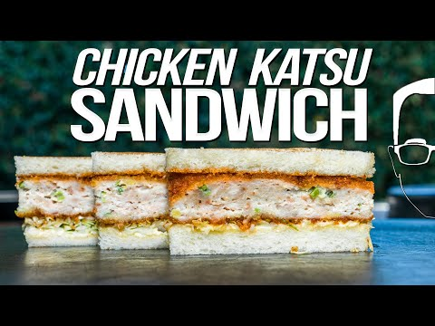 CHICKEN KATSU SANDWICH | SAM THE COOKING GUY 4K