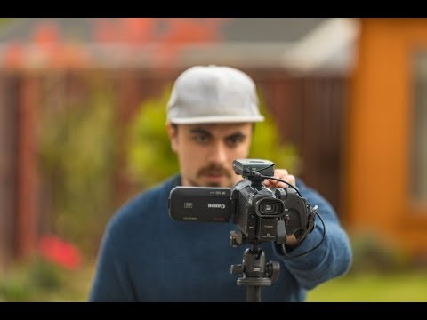Mike Boyd puts the LEGRIA GX10 to the test - Canon