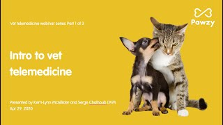 Introduction to vet telemedicine webinar (1/3)