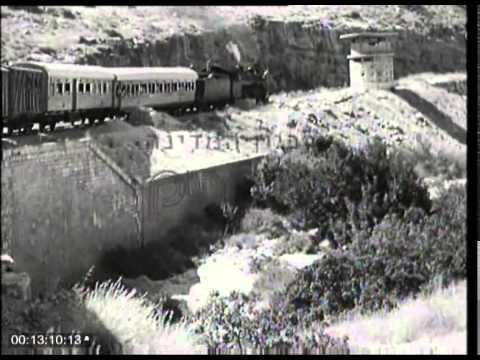תיעוד היסטורי של הנסיעה הראשונה של רכבת ישראל לירושלים בשנת 1949