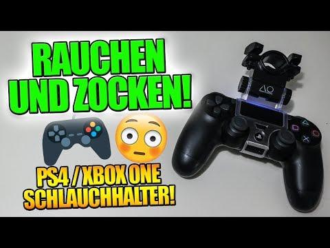 🎮💨 RAUCHEN & ZOCKEN!! 💨🎮 | PS4 / XBOX ONE SCHLAUCHHALTER