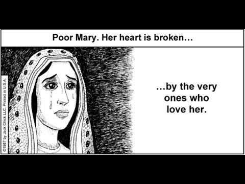 Mary Is Crying Before Jesus Because Catholics Keep Worshiping Her - Catholicism Leads To Hell Mp3