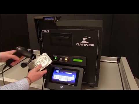 Video of the Garner TS-1E IRONCLAD NSA Approved Degausser Shredder