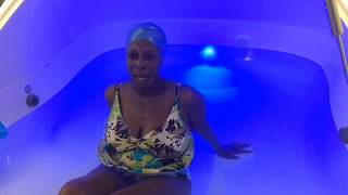 What is flotation therapy?