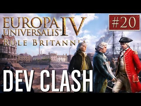 EU4 - Paradox Dev Clash - Episode 20 - Rule Britannia