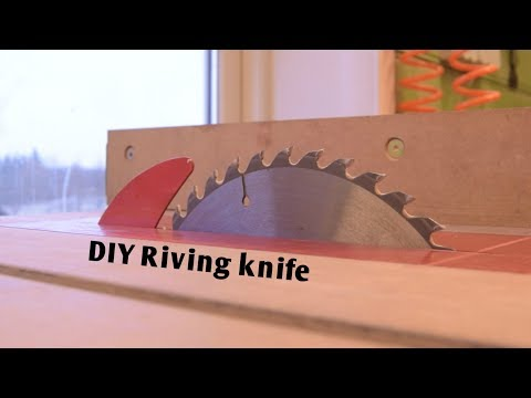 Short No.2 : riving knife