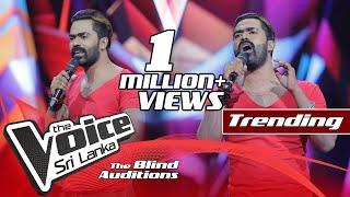 Nipun De Silva - Bulleya   Blind Auditions   The Voice Sri Lanka