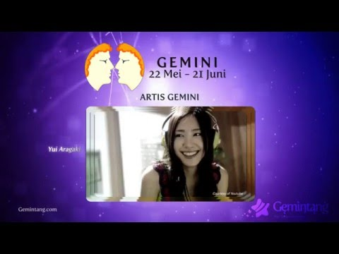 Video Ramalan Bintang Gemini - Karakter dan Sifat