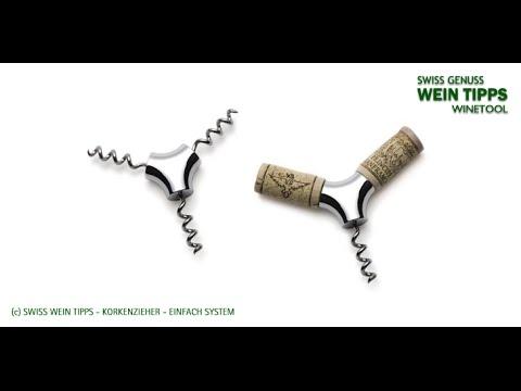 Swiss Wein Tipps - Korkenheber