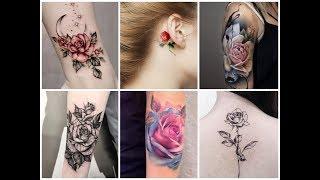 50 Beautiful Rose Flowers Tattoo Design Ideas