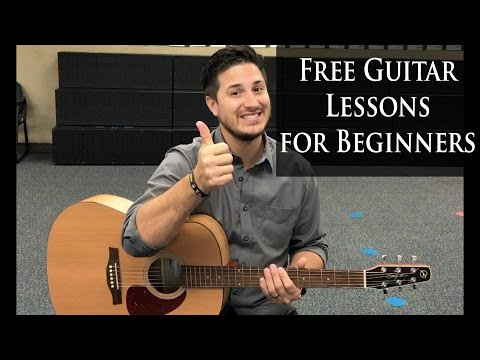 Free Guitar Lessons for Beginners
