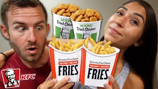We Ate The NEW KFC Secret Fries & Beyond Chicken Nuggets!
