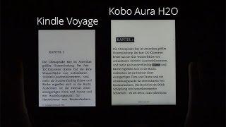 Kobo Aura H2O im Video-Kurztest