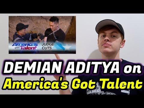 Demian Aditya BIKIN MALU ATAU BANGGA di America's Got Talent??!! (Reaction Video)