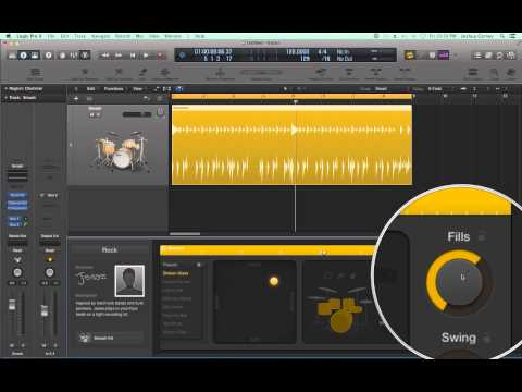 Logic Pro X – Video Tutorial 45 – Drummer Plug-in (PART 1)