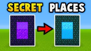 MINECRAFT : Secret Places In Your World! (Ps3/Xbox360/PS4/XboxOne/WiiU/PE)