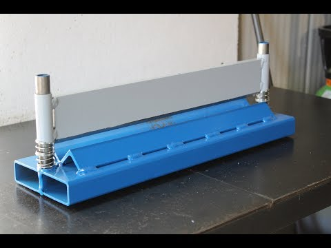 piegatrice per pressa fai da te (homemade press brake)