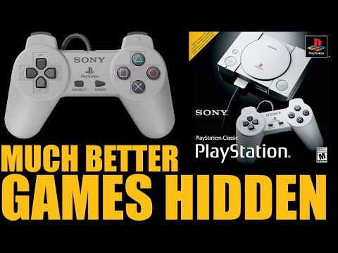 Download The PlayStation Classic Has 36 AMAZING (UNUSABLE) Games Hidden Inside... HD Mp4 3GP Video and MP3