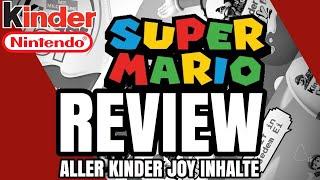Kinder Joy Super Mario Spielzeuge