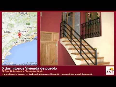 5 dormitorios Vivienda de pueblo se Vende en El Pont D'Armentera, Tarragona, Spain