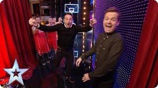 Preview: Ant gives the Dunking Devils a run for their money! | Britain's Got Talent 2016