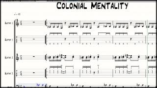 Learning To Play Fela Kuti Afrobeat: Colonial Mentality by Fela Kuti pt.1