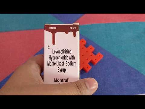 Medicine Review: Montral syrup uses side effects precautions