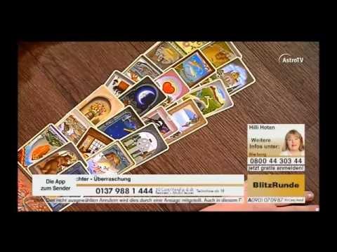 Kartenlegen Live mit Hilli Hotan auf AstroTV