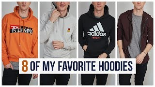 8 Of My Favorite Hoodies | Marcel Floruss | One Dapper Street