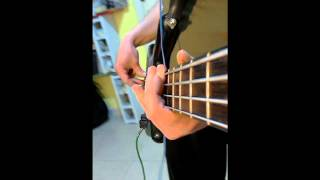Subsonica Ft. Battiato - Up Patriots To Arms (Bass Cover by Jecks)