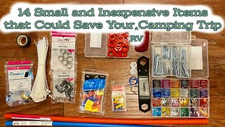 14 Small and Inexpensive Items That Could Save Your Camping Trip (RV)