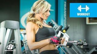 健身典範-背部訓練| Nikki Walter 出處 Bodybuilding.com
