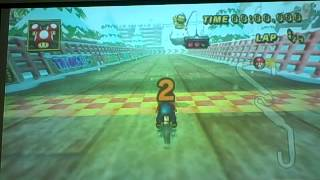 Mario Kart (Wii) - Unlocking Expert Staff Ghosts for Flower Cup