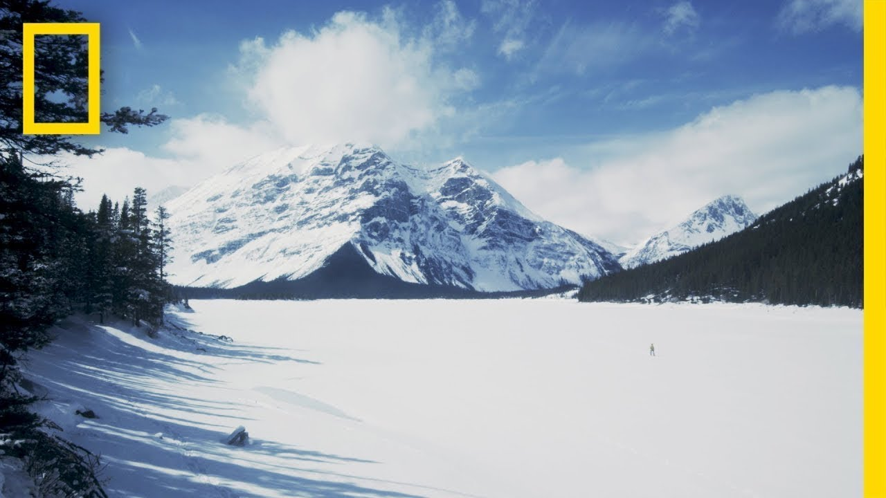 Epic Winter Adventures Await in These Canadian Mountains | National Geographic thumbnail